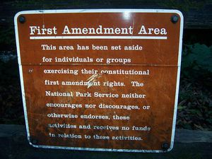 what does the first amendment say about freedom of speech