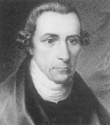 Patrick Henry, above, served as counsel for the defense in the Parson's Cause Trial, despite the fact that his father was the presiding judge. (Courtesy, The National Portrait Gallery)