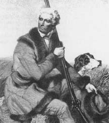 Daniel Boone. (Courtesy, Library of Congress)