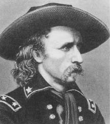 George Armstrong Custer whose actions during the expedition against the Kansas Indians may have led to his rash behavior at Little Big Horn (Courtesy, Library of Congress)
