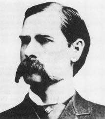 Wyatt Earp, known for his participation in the shootout at O.K. Corral, Tombstone, Arizona. (Archive Photos)