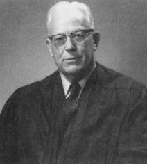 Chief Justice Earl Warren, who influenced the unanimous outcome Brown v. Board of Education. (Courtesy, National Archives)