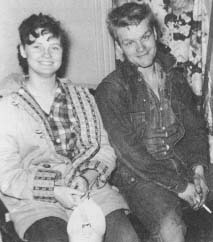 Charlie Starkweather and Card Ann Fugate. (Bettmann/Corbis)