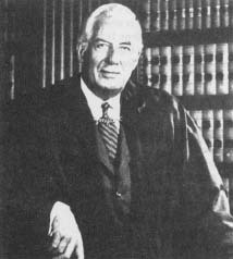 "Chief Justice Burger voted with the majority in the Roe v. Wade decision which affirmed a woman's ""fundamental right"" to privacy in the area of choosing whether or not to have an abortion. (Courtesy, Library of Congress)"